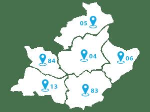monte escaler region paca zones intervention