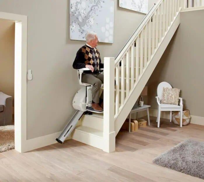 monte escalier home glide interieur droit