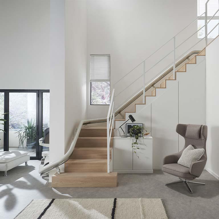 monte escalier Grasse
