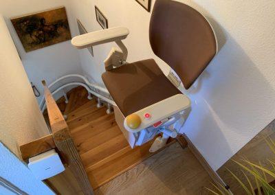 Monte escalier intérieur 6