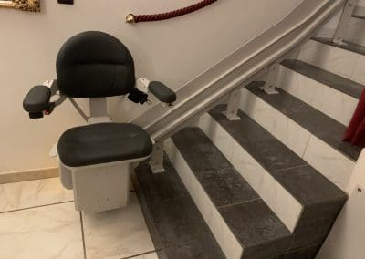 Monte escalier intérieur Bruno