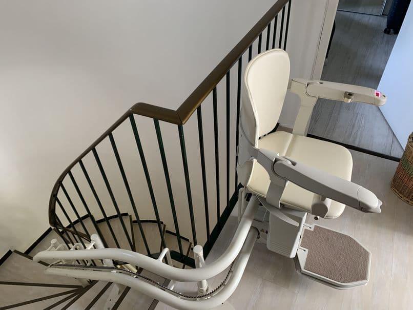La popularité des montes escalier